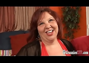 Juvenile Dude Banging Redhead SSBBW GILF With Huge Tits