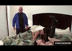 2 wives fucked away from stranger