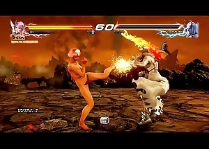Tekken 7 Alisa lay bare boobs 3D game VS BATTles Wiki Reppuzan Vs Battles WIki
