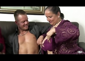 XXX OMAS - Dirty German grannies rate a hot group intercourse session