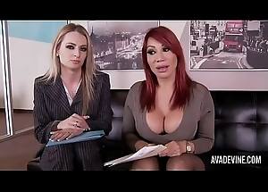 Ava Devine and Natasha Starr hither rendezvous triptych
