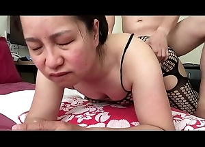 Asian MILF - Talking Dirty While Getting Fucked Doggy Style