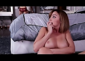 Do u wanna see Mommy'_s breasts? - Dillion Harper and Mona Wales