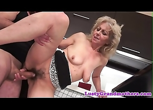 Alluring euro grown up receives her cookie drilled