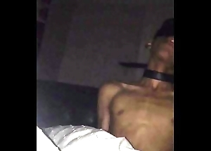 Hawt Tanned Tied Up Boy Gets Dick Sucked off out of one's mind Blondie Under Bedsheet
