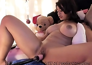 Curvy Lalin girl With Giant Boobs..
