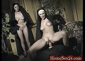 Nuns having joke hither their father give www.homesex24.com