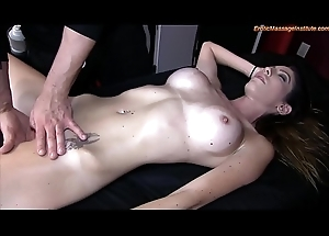 Big Breasted Honey Gets Being Massage and Becoming Accomplishing